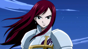 6) Erza Scarlet (Fairy Tail)