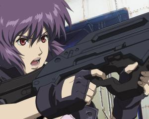 5) Motoko Kusanagi (Ghost in the Shell)